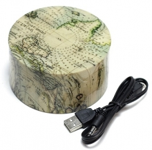 مینی اسپیکر  بلوتوثی در طرح نقشه جهان